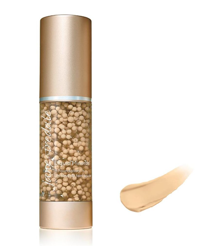 Jane Iredale FOUNDATIONS Liquid Minerals Warm Sienna