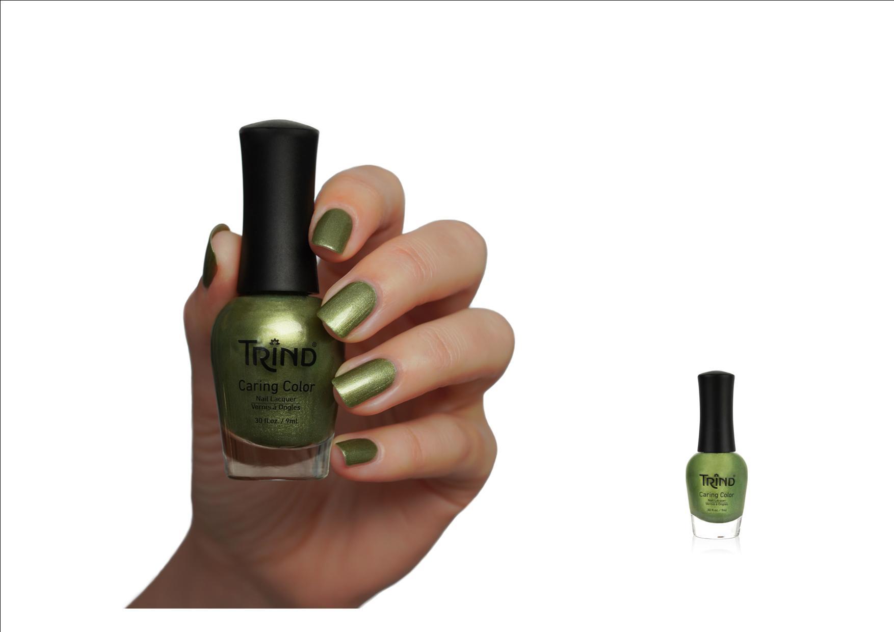 Trind Caring Color Nagellak Sparkling Moss 306 nieuwe voorjaar/zomer kleur 2020