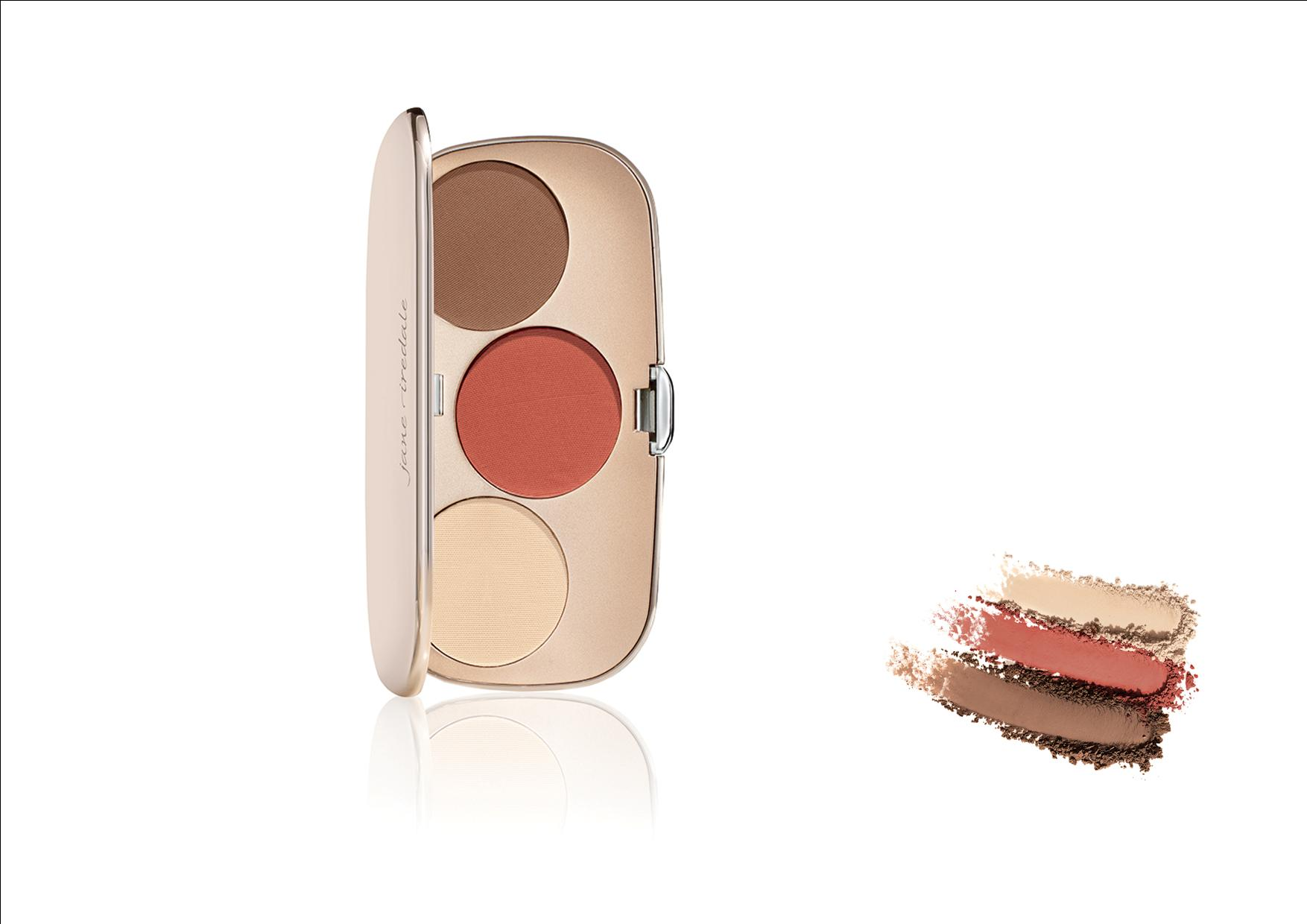 Jane Iredale WANGEN Great Shape Contour Kit Deep