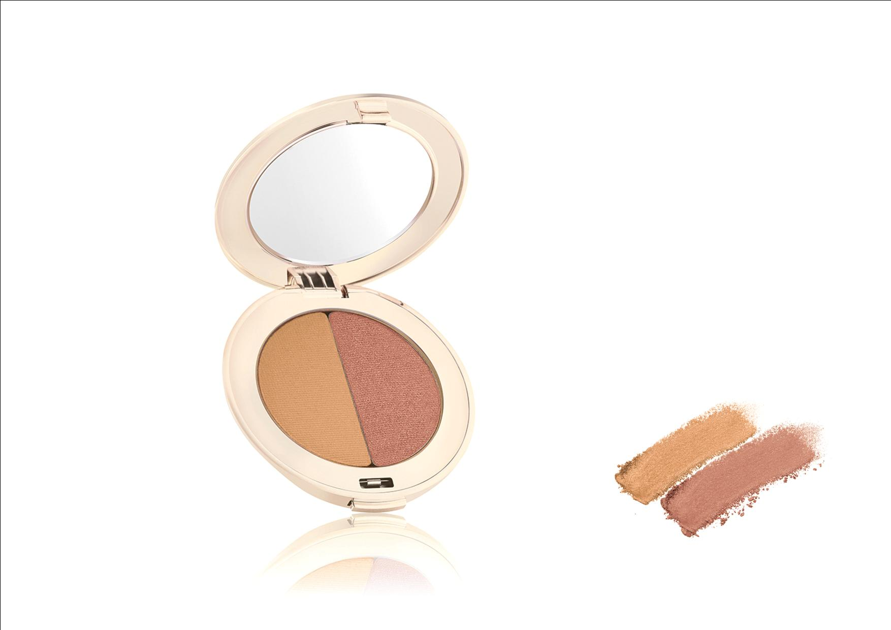 Jane Iredale PurePressed Eye Shadow Duo Golden Peach