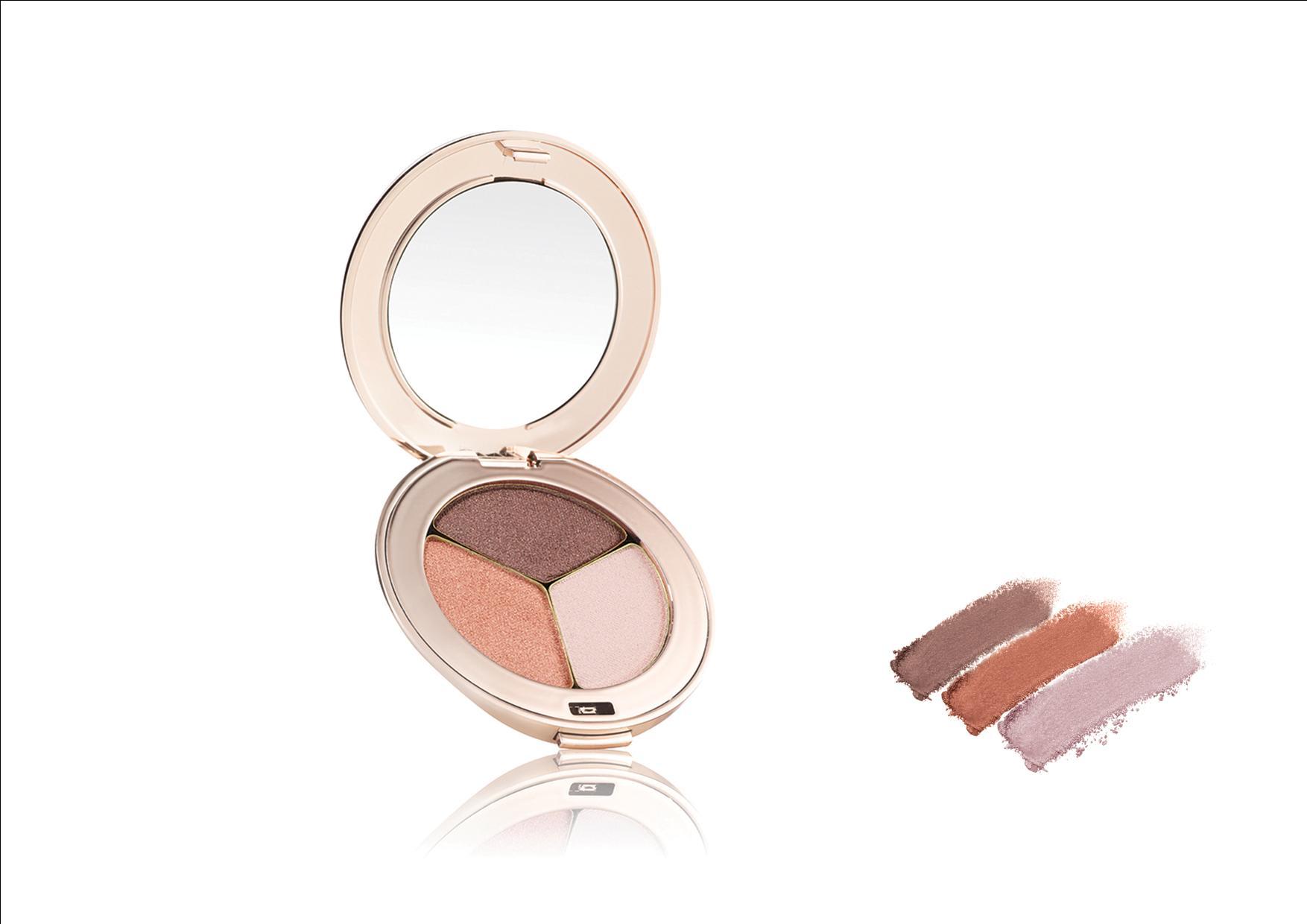 Jane Iredale PurePressed Eye Shadow Triple Pink Quartz