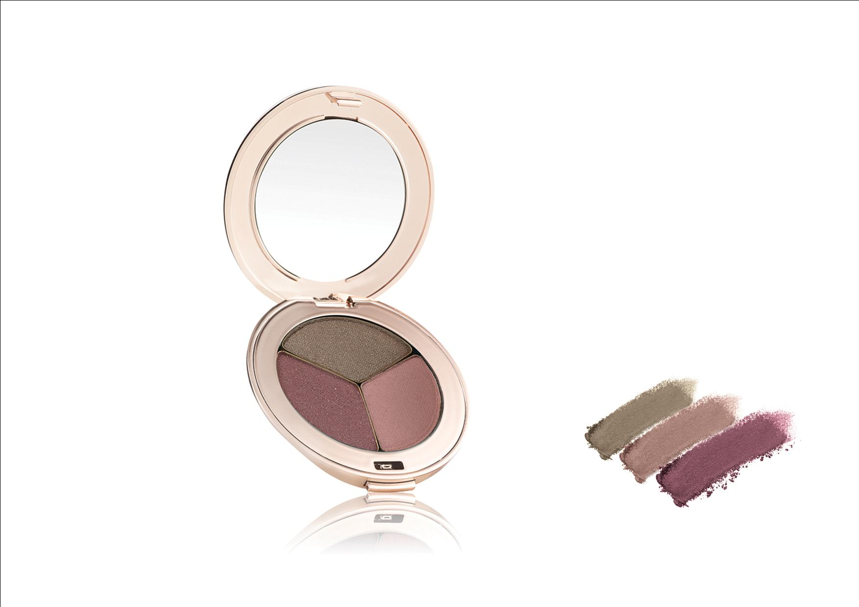 Jane Iredale PurePressed Eye Shadow Triple Soft Kiss