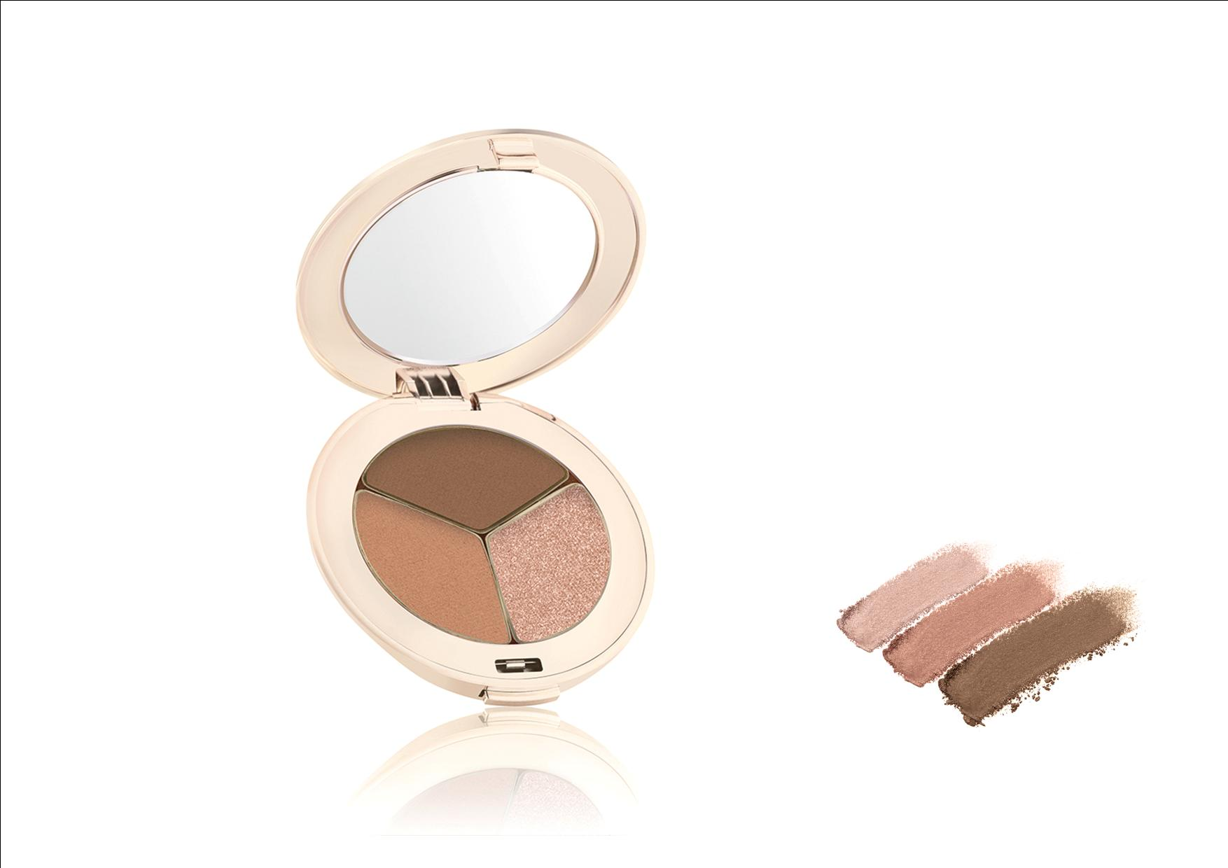 Jane Iredale PurePressed Eye Shadow Triple Triple Cognac