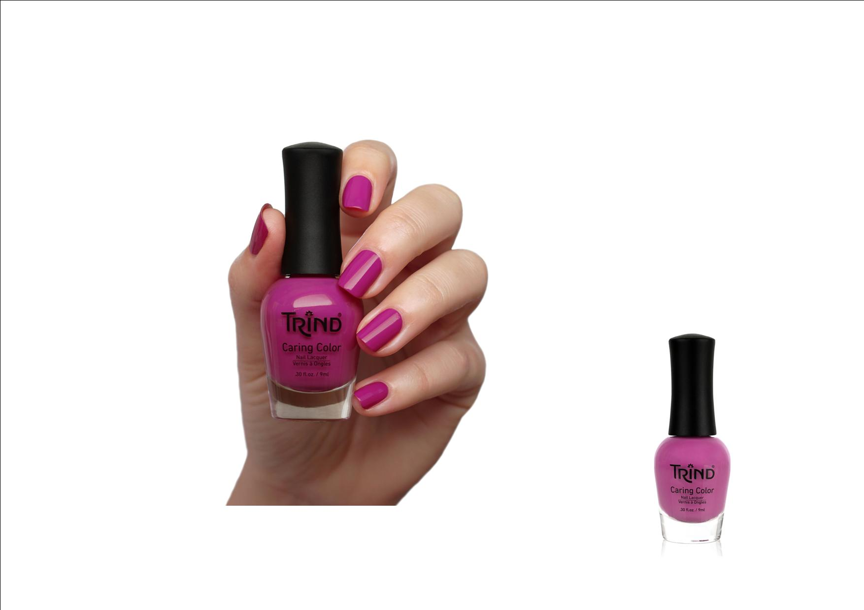 Trind Caring Color Nagellak 268 Citified Cyclamen