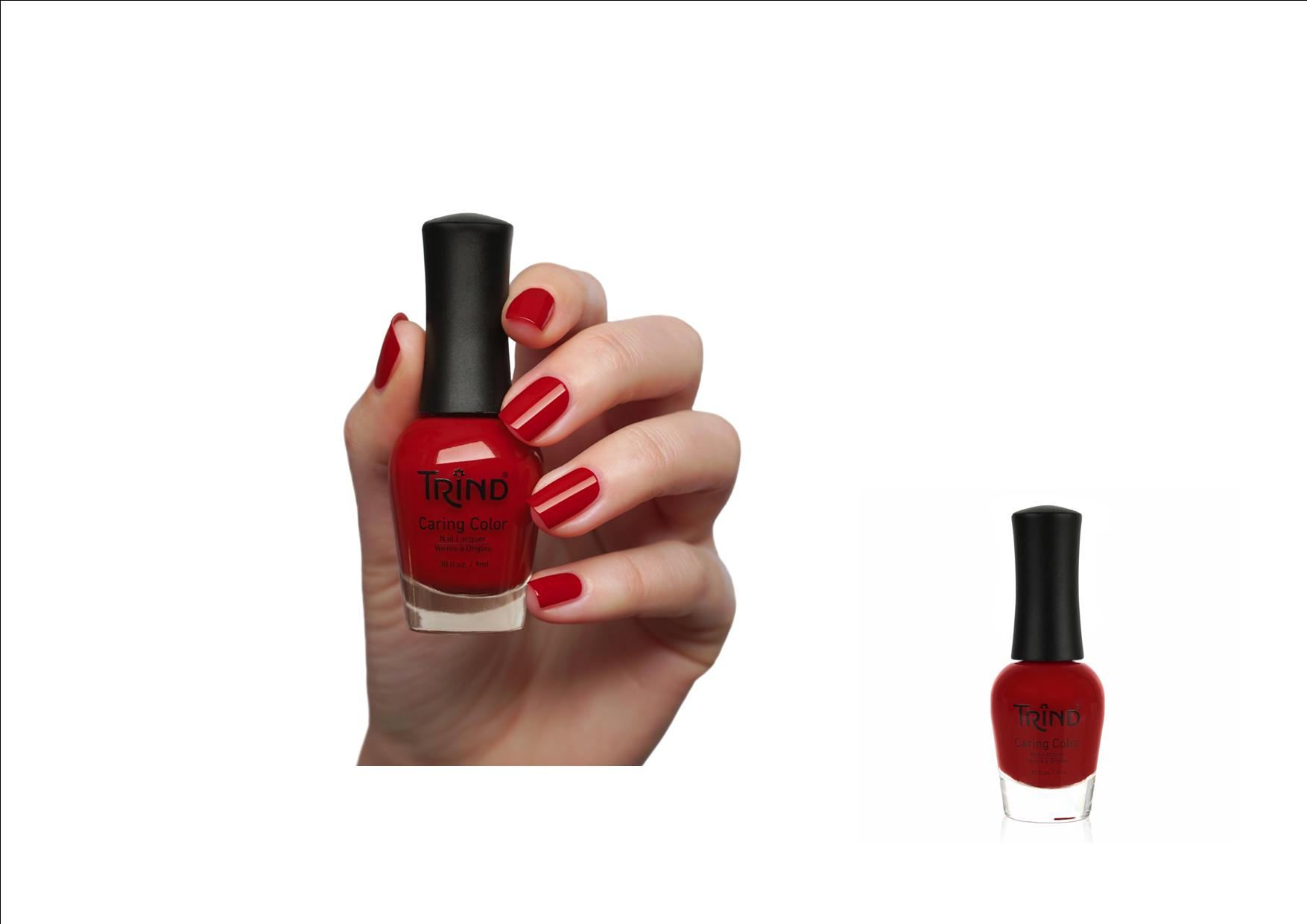 Trind Caring Color Nagellak 272 Fire Engine