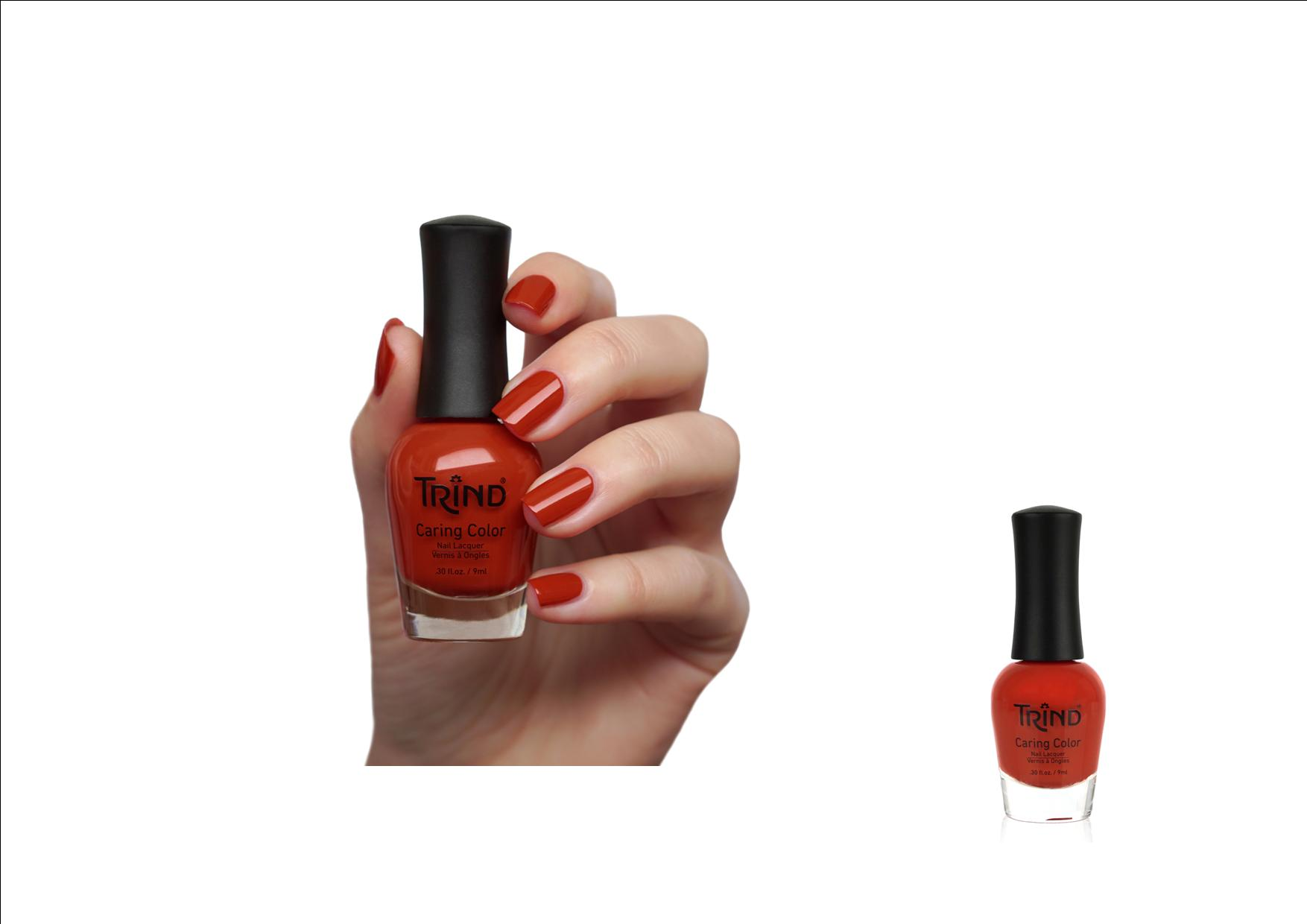 Trind Caring Color Nagellak 274 Very Vermillion