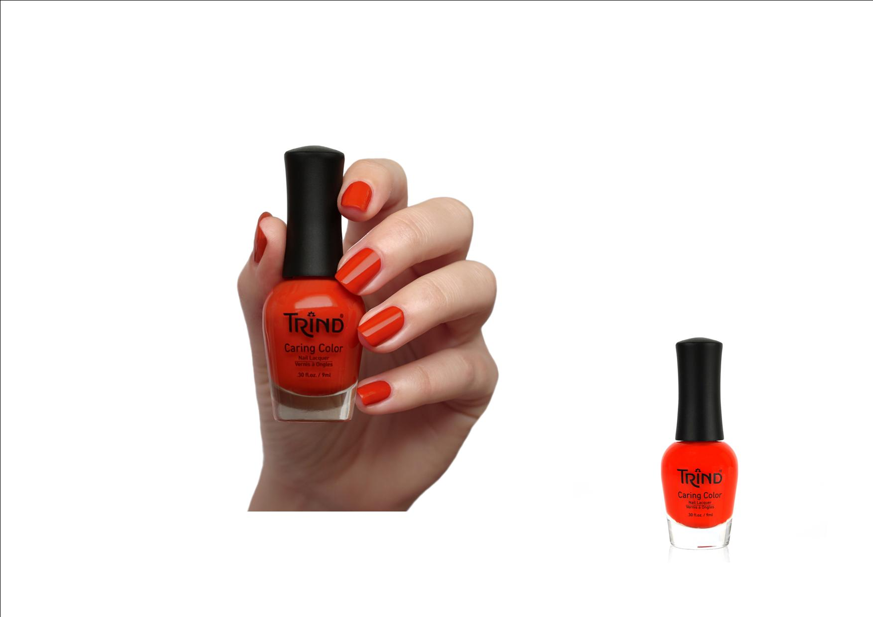 Trind Caring Color Nagellak 270 Pumpkin Spice