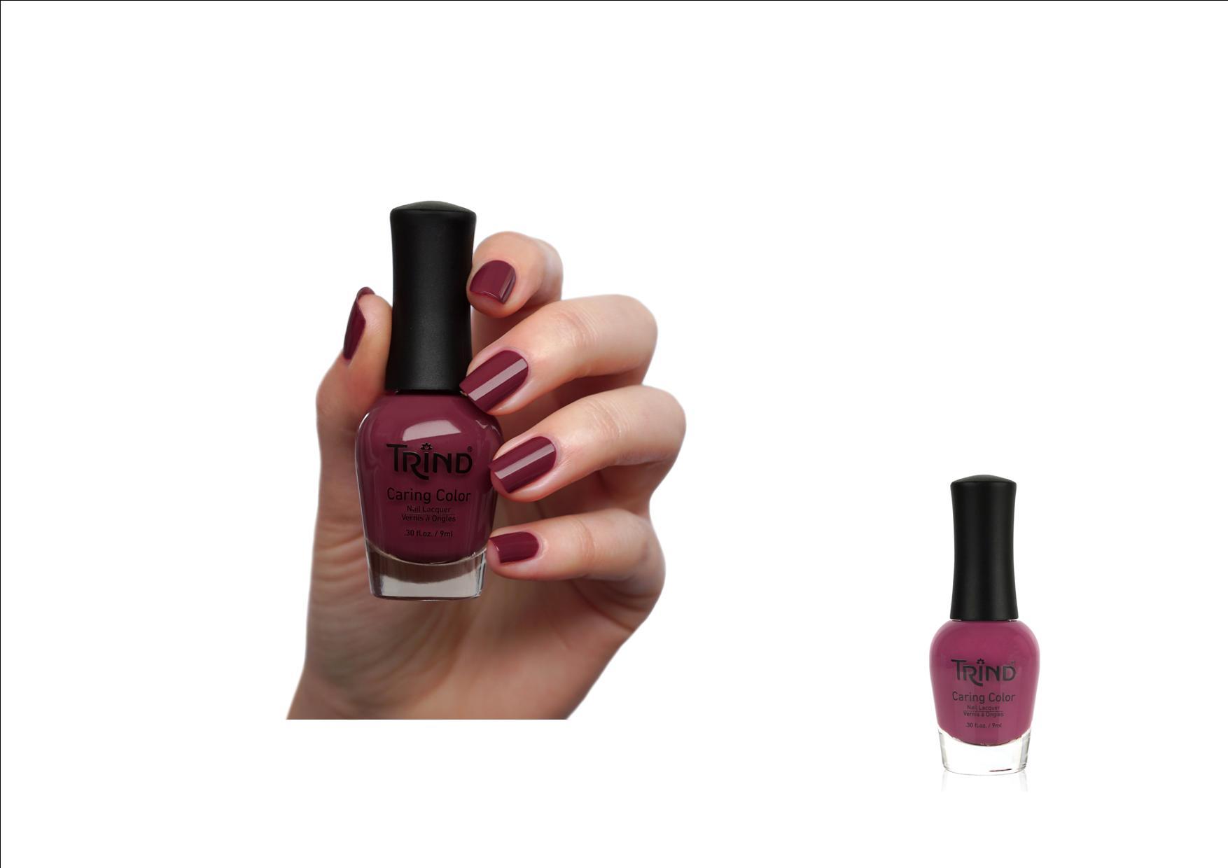 Trind Caring Color Nagellak 163 Raspberry  Swirl