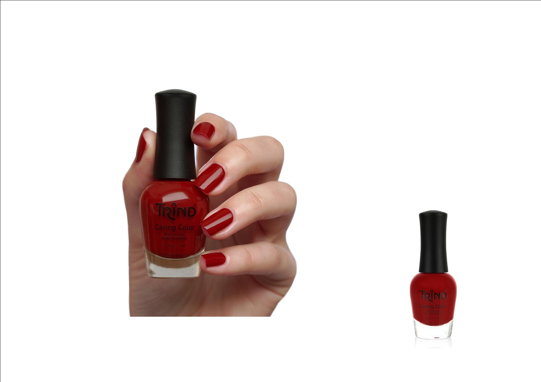 Trind Caring Color Nagellak 298 Cosmic Red